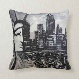 New York City American MoJo Pillow
