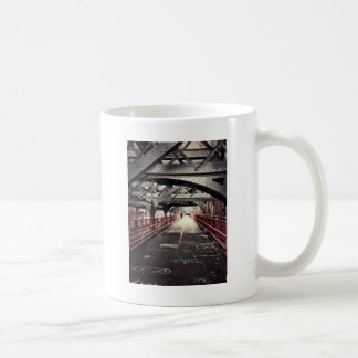 New York City Architecture - Williamsburg Bridge Coffee Mug