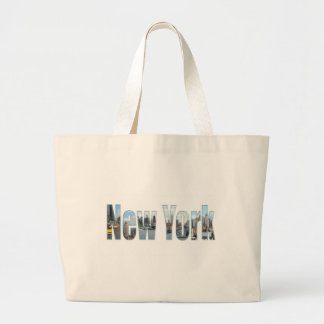 New York City attractions Large Tote Bag