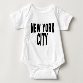 New York City Baby Bodysuit