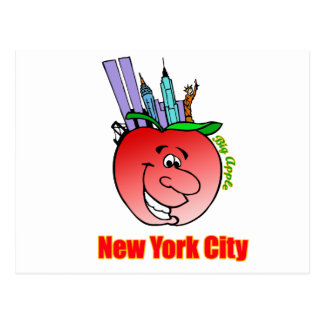 New York City Big Apple Postcard