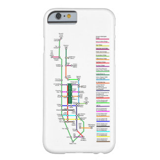 New York City Bike Map Smartphone Case