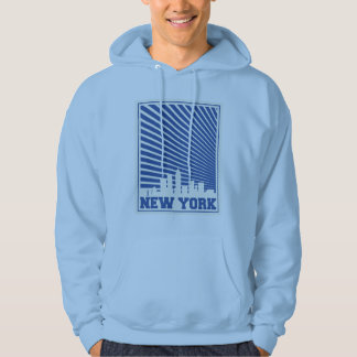 New York City Blue Hoodie