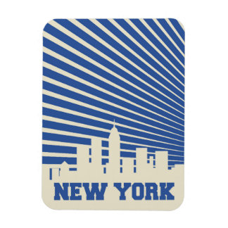 New York City Blue Magnet