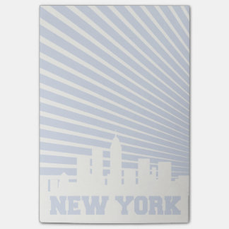 New York City Blue Post-it Notes