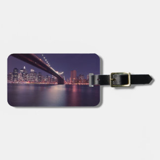 New York City Brooklyn Bridge Luggage Tag