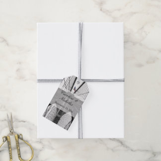 New York City Brooklyn Bridge Wedding Gift Tags