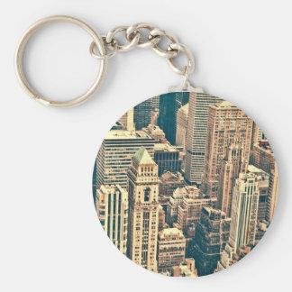New York City Buildings Keychain