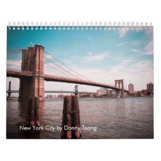 New York City by Donny Tsang Wall Calendar
