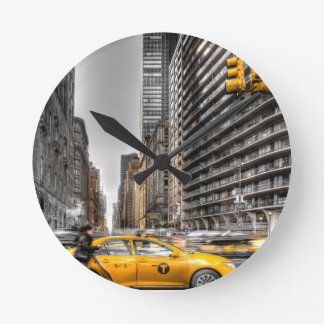 New York City cabs, Central Park Round Clock