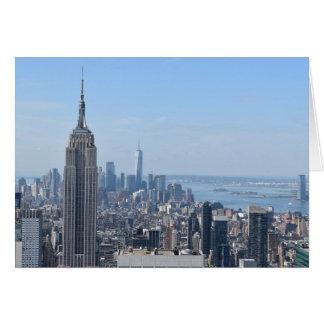 New York City, card