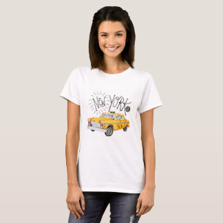 New York City Chequered Cab T-Shirt