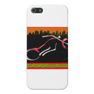 New York City Chopper Dreaming Red jGibney The MUS Cases For iPhone 5