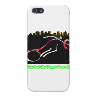 New York City Chopper Dreaming Red transp 2 jGibne iPhone 5 Cases