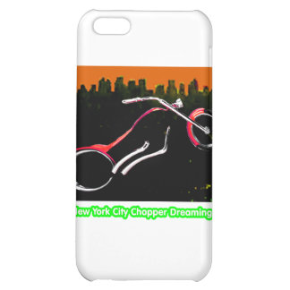 New York City Chopper Dreaming Red transp jGibney Cover For iPhone 5C