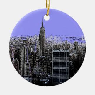 New York City Christmas Tree Ornaments