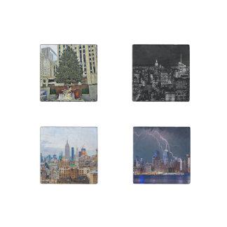 New York City  Cityscape Magnet Set