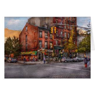 New York - City - Corner of One way & This way Card