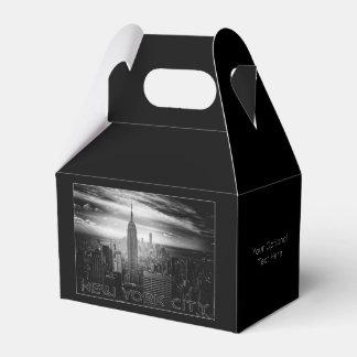 NEW YORK CITY custom favor box