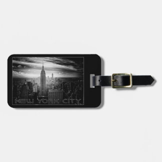 New York City custom luggage tag