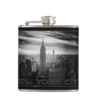 NEW YORK CITY custom name flask