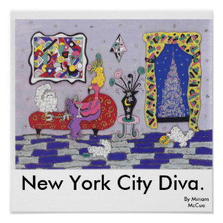 New York City Diva Poster