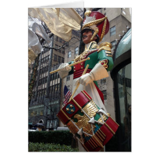 New York City Drummer Boy NYC Christmas Cards