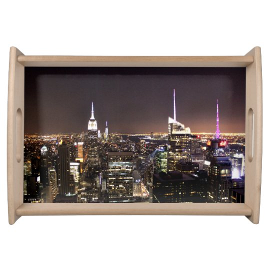 New York City (Empire State building) Food Trays