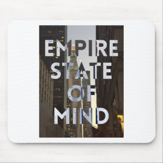 new-york-city-empire-state-of mind mouse pad