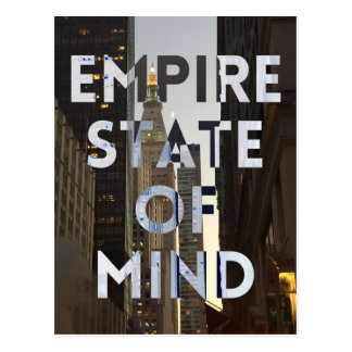 new-york-city-empire-state-of mind postcard