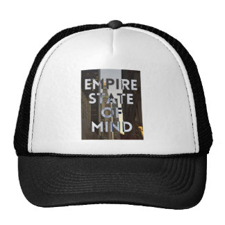 new-york-city-empire-state-of mind trucker hat