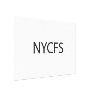 New York City Finger Salute ai Stretched Canvas Prints