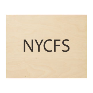 New York City Finger Salute ai Wood Canvases