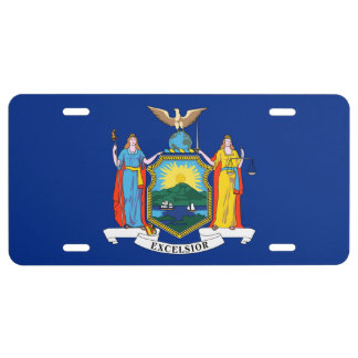 New York City Flag License Plate