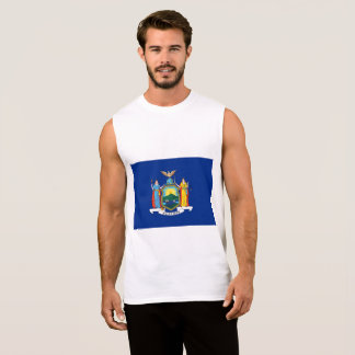 New York City Flag Sleeveless Shirt