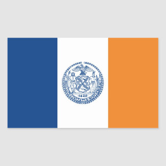 new york city flag united states america country sticker