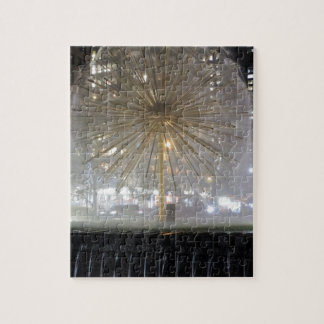 New York City Fountain Jigsaw Puzzle