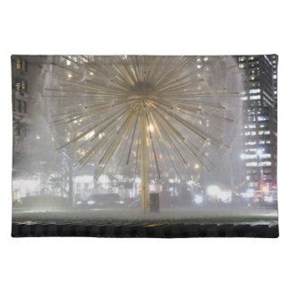 New York City Fountain Placemat
