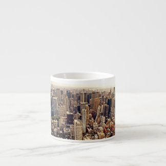 New York City From Above Espresso Cup
