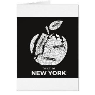 New York City gifts, NYC, Brooklyn ,Queens,Bronx Card
