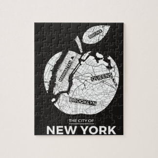 New York City gifts, NYC, Brooklyn ,Queens,Bronx Jigsaw Puzzle