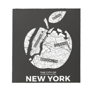 New York City gifts, NYC, Brooklyn ,Queens,Bronx Notepad