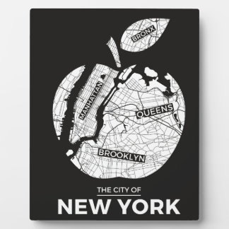 New York City gifts, NYC, Brooklyn ,Queens,Bronx Plaque
