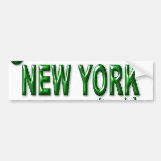 New York City Girl Bumper Sticker