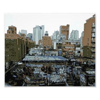 New York City Graffiti Photo Print