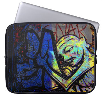 New York City Graffiti Street Photo Laptop Sleeve