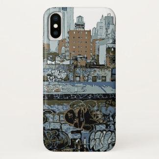 New York City Grafiti iPhone X Case