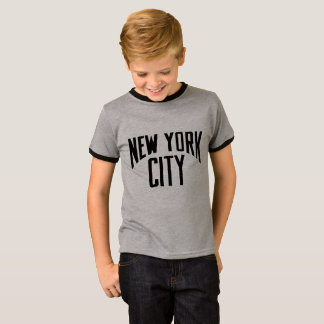 New York City GREY & BLACK TSHIRT