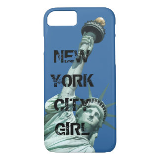New York City Gritty Girl iPhone 8/7 Case
