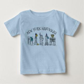 New York City Hanukkah NYC Jewish Holiday Chanukah Baby T-Shirt